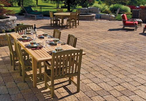 Paver and wall products from Tussey Mountain Mulch